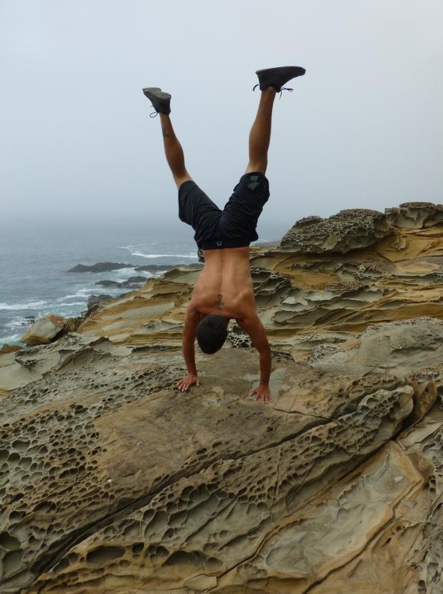 Jared Handstand